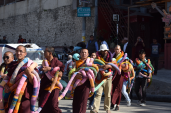 Public procession to Maitighar Mandala