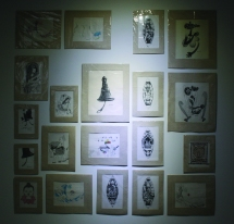 original drawings by Manish, Ishan, Sabita and Sundar